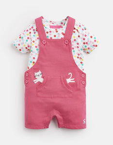 Misha Jersey Dungaree Set