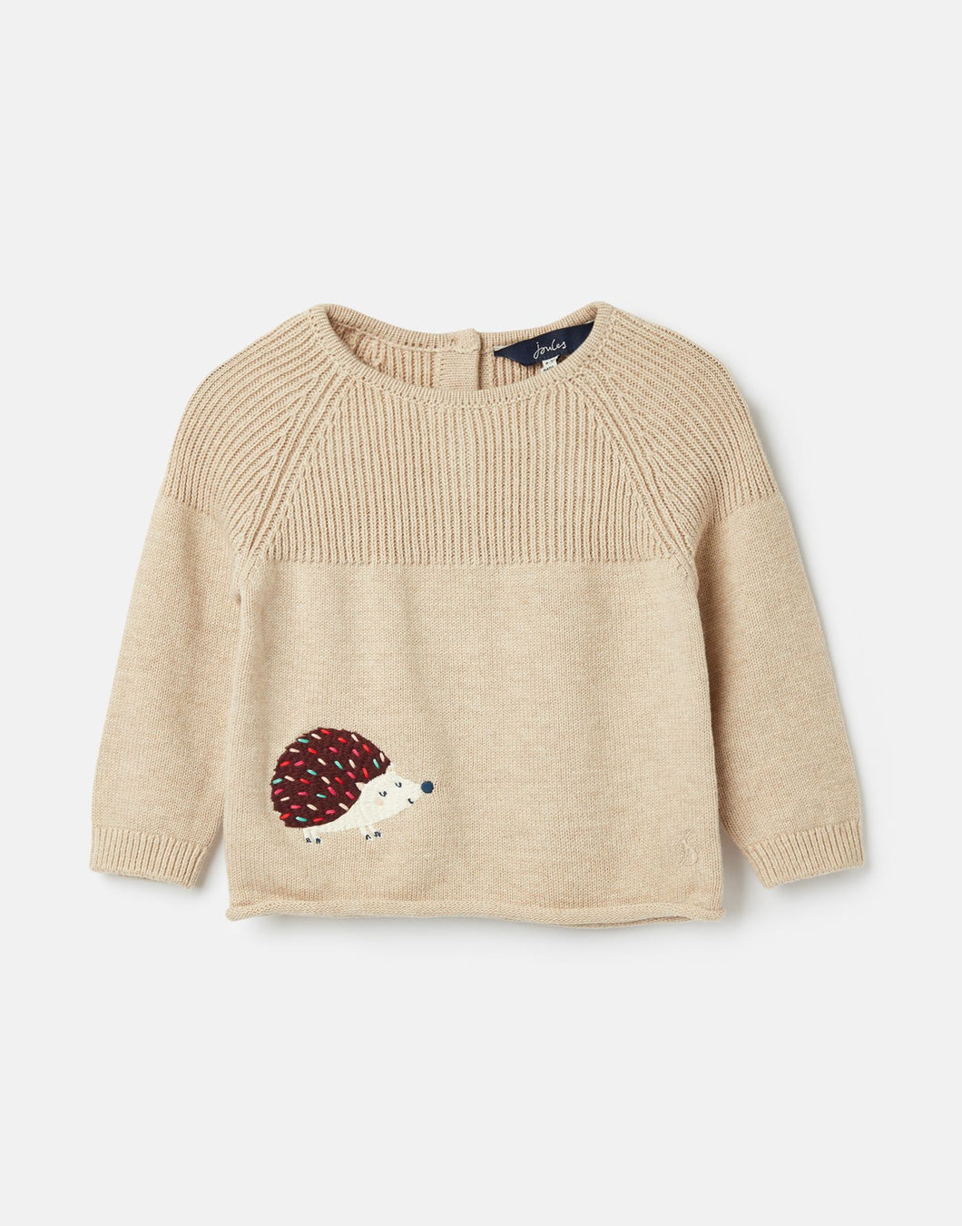 Aubrey Knitted Hedgehog Sweater