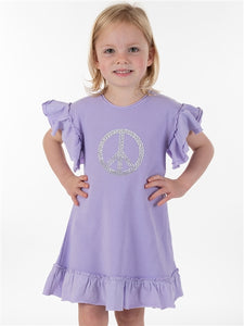 Lavender Peace Dress