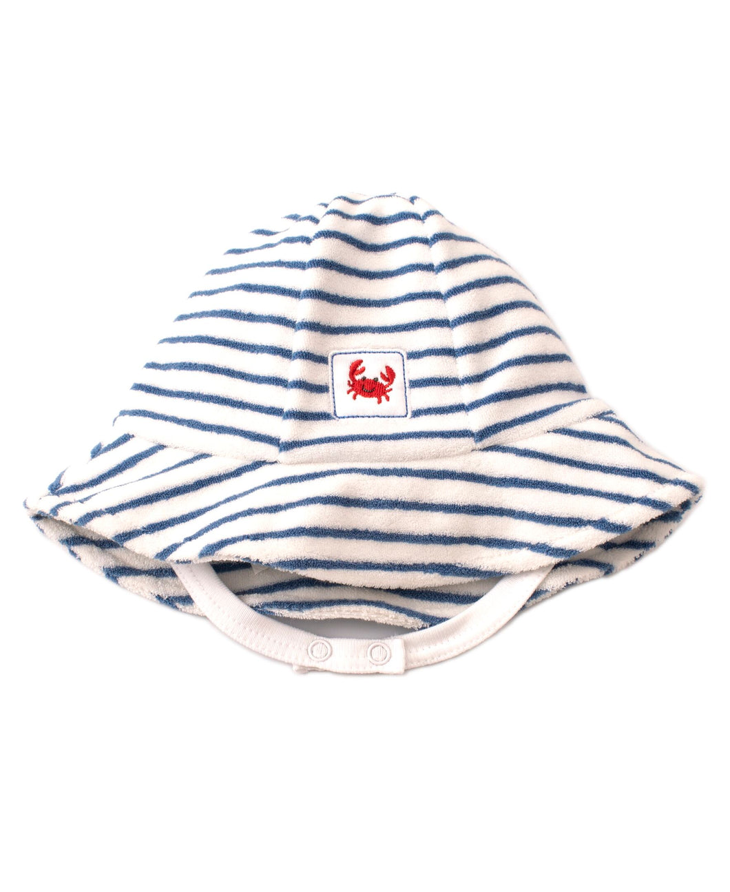 Whale Of A Time Terry Sunhat STR - Blue Print