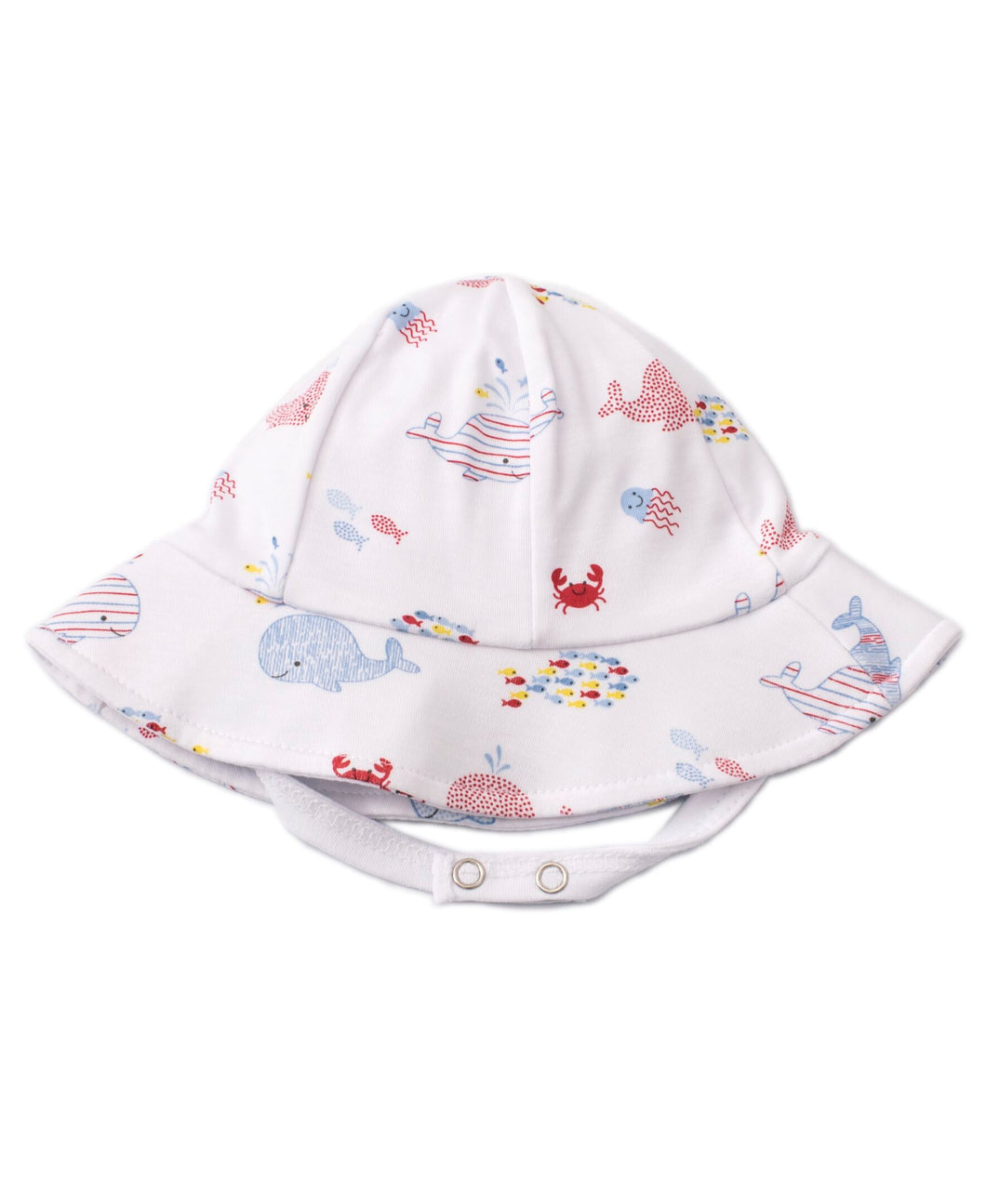 Whale Of A Time Sunhat - Blue Print