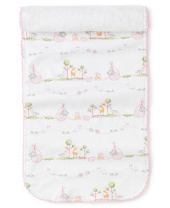 Noah's Burp Cloth Pink