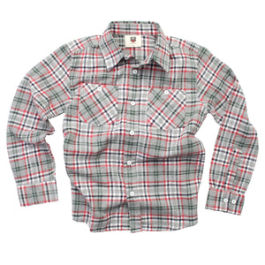 Plaid LS Shirt F19 Heather