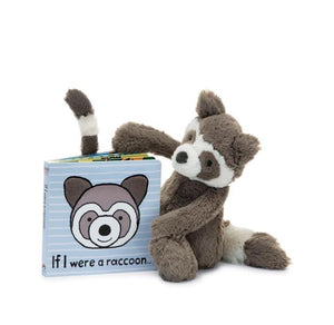 If I Were A Raccoon Book Jellycat