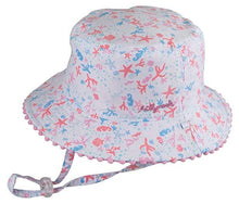 Load image into Gallery viewer, Baby Girls Bucket Hat - Shoreline