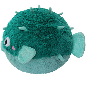 "Squishable Teal Pufferfish (15"")"