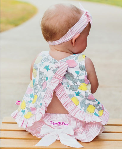 Make Lemonade Bow-Front Swing two piece set