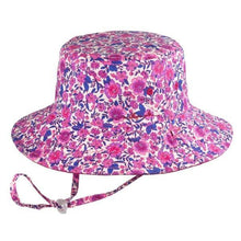 Load image into Gallery viewer, Girls Floppy Hat - Ruby Pink