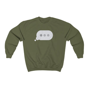 Text Bubble: Sweatshirt