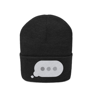 Text Bubble: Knit Beanie