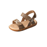 Angled picture of the outter side of the Infant's Twisted X Sandal ICAS001
