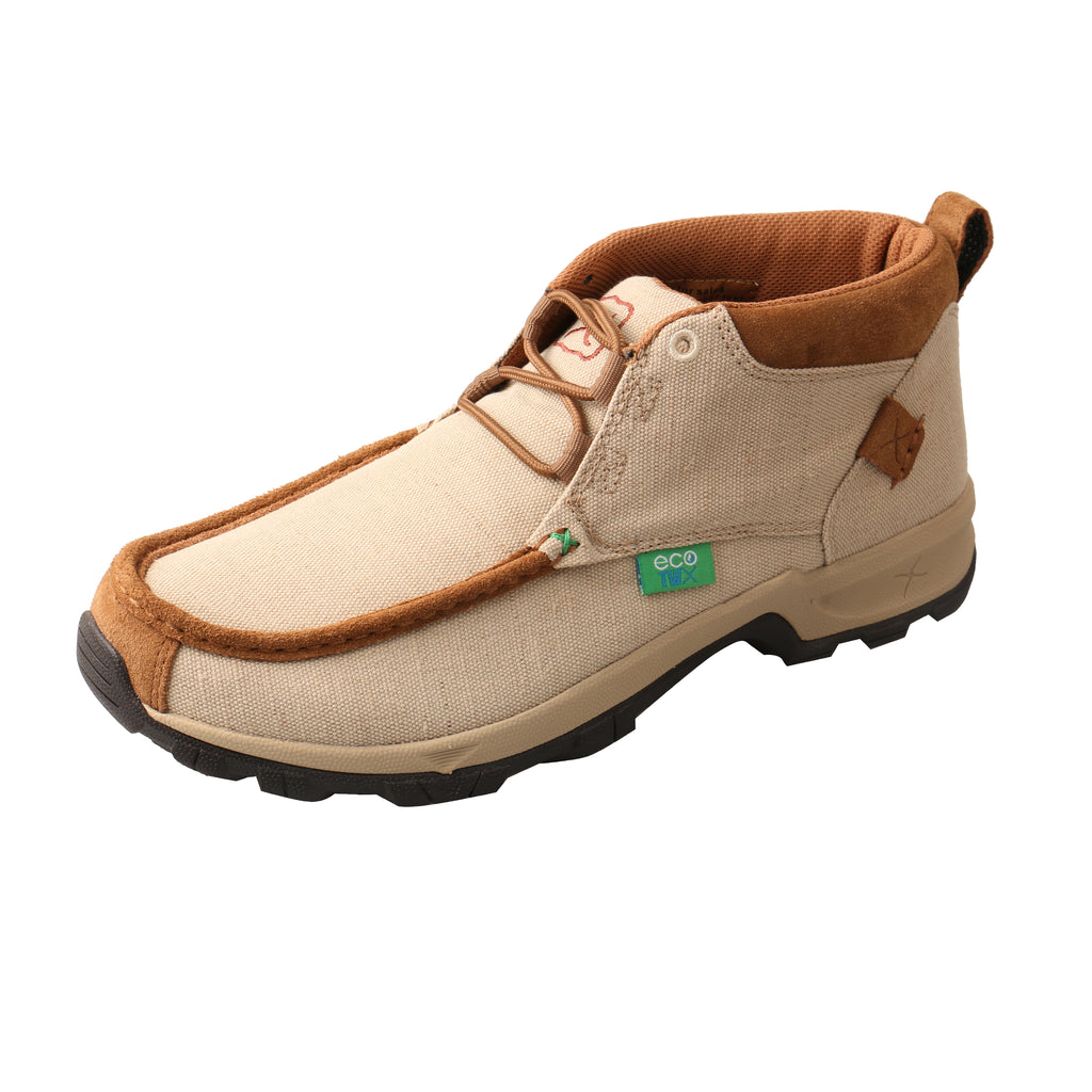 Angled picture of the outter side of the Men's Twisted X ECO TWX Hiker Shoe MHK0009