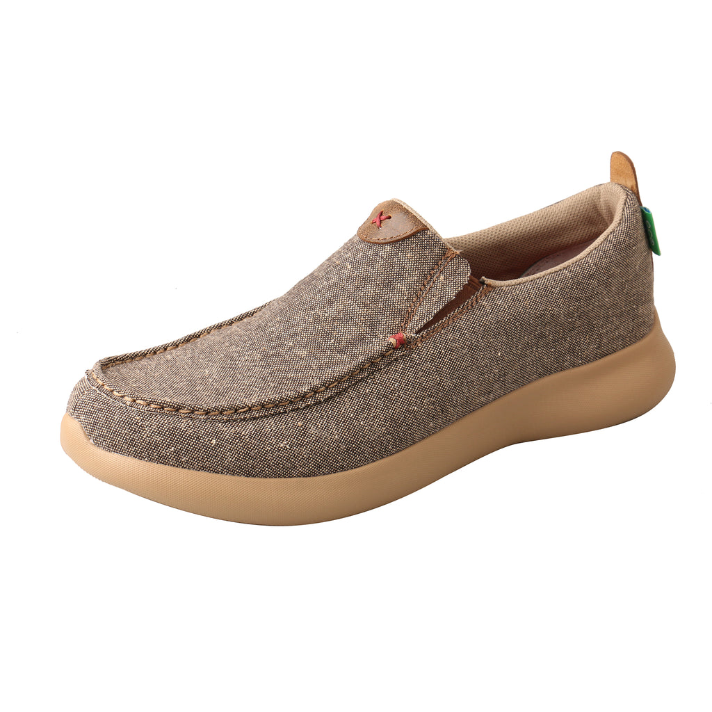 Angled picture of the outter side of the Men's Twisted X ECO Slip-On EVA12R MRV0002