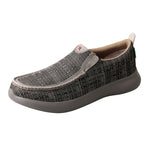 Angled picture of the outter side of the Men's Twisted X Slip-On EVA12R MRV0004