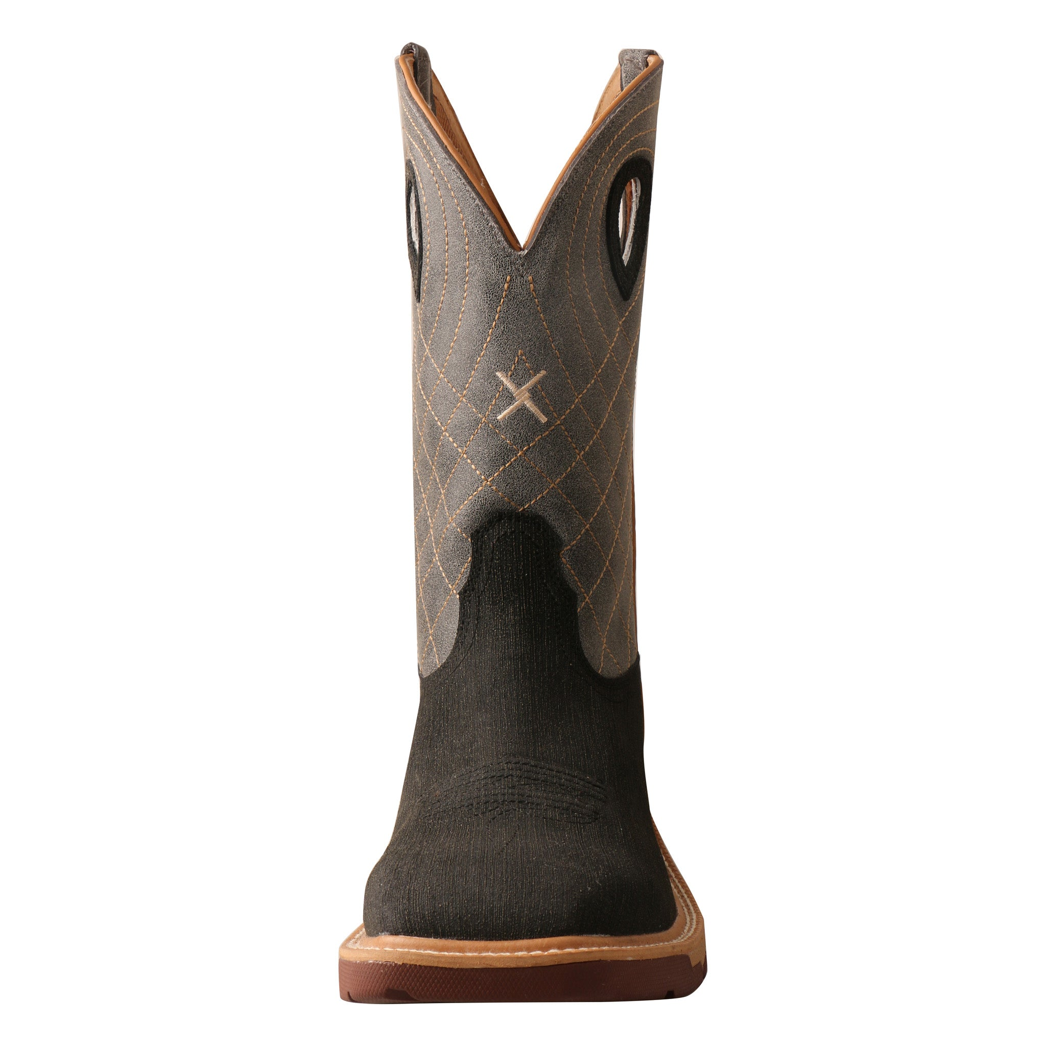 Picture of the front toe of the Men's Twisted X CellStretch Work Boot MXB0002