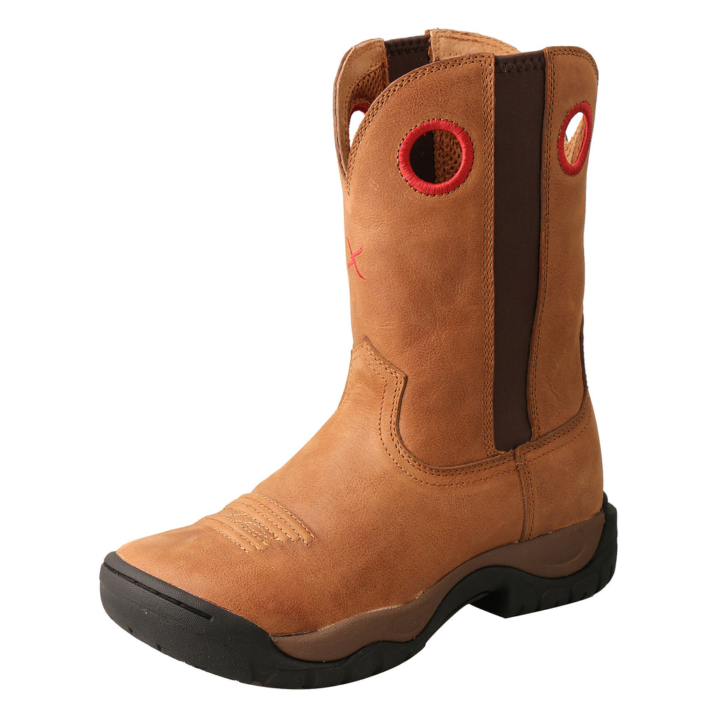 Angled picture of the outter side of the Women's Twisted X All Around Boot WAB0011
