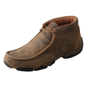 Angled picture of the outter side of the Women's Twisted X Original Chukka Driving Moc WDM0001