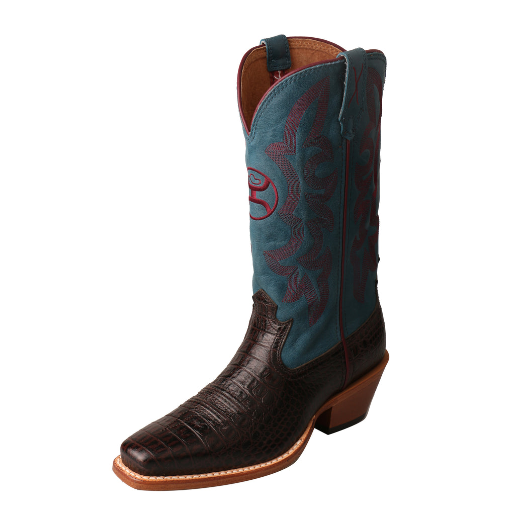 Angled picture of the outter side of the Women's Twisted X Hooey Boot WHY0008