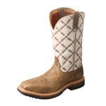 Angled picture of the outter side of the Women's Twisted X Alloy Toe Lite Western Work Boot WLCA001