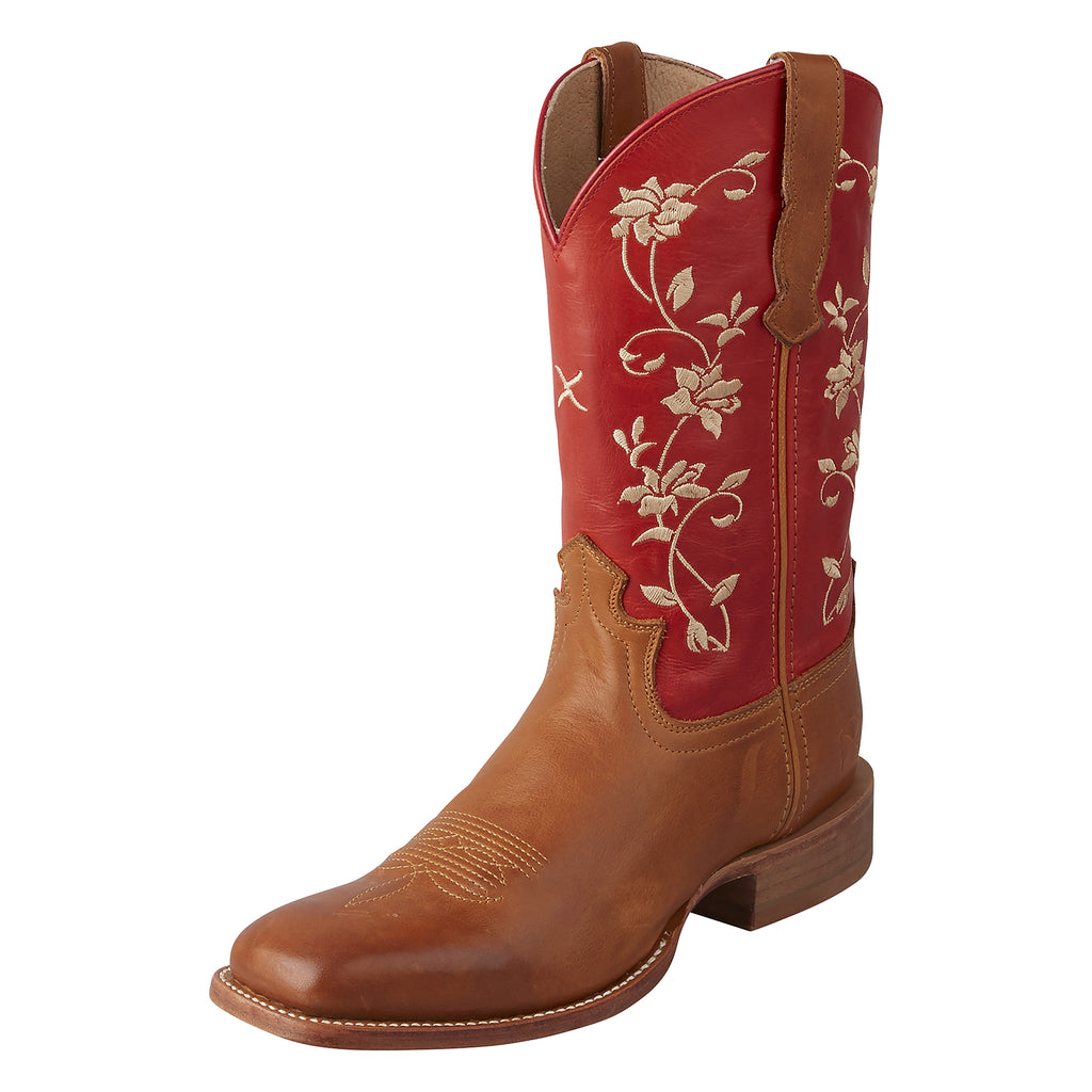 Angled picture of the outter side of the Women's Twisted X Rancher Boot WRAL012