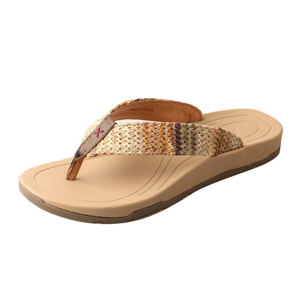 Angled picture of the outter side of the Women's Twisted X Sandal WSD0031