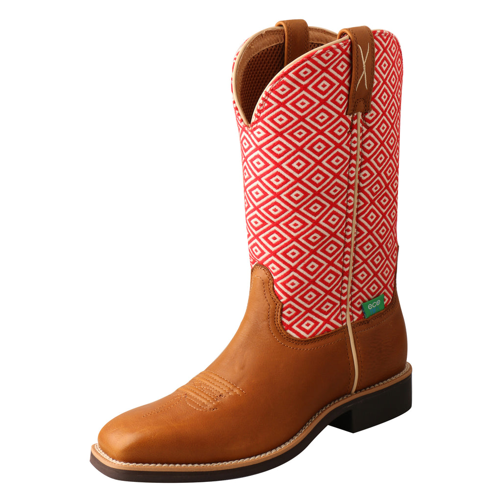 Angled picture of the outter side of the Women's Twisted X Top Hand Boot WTH0018