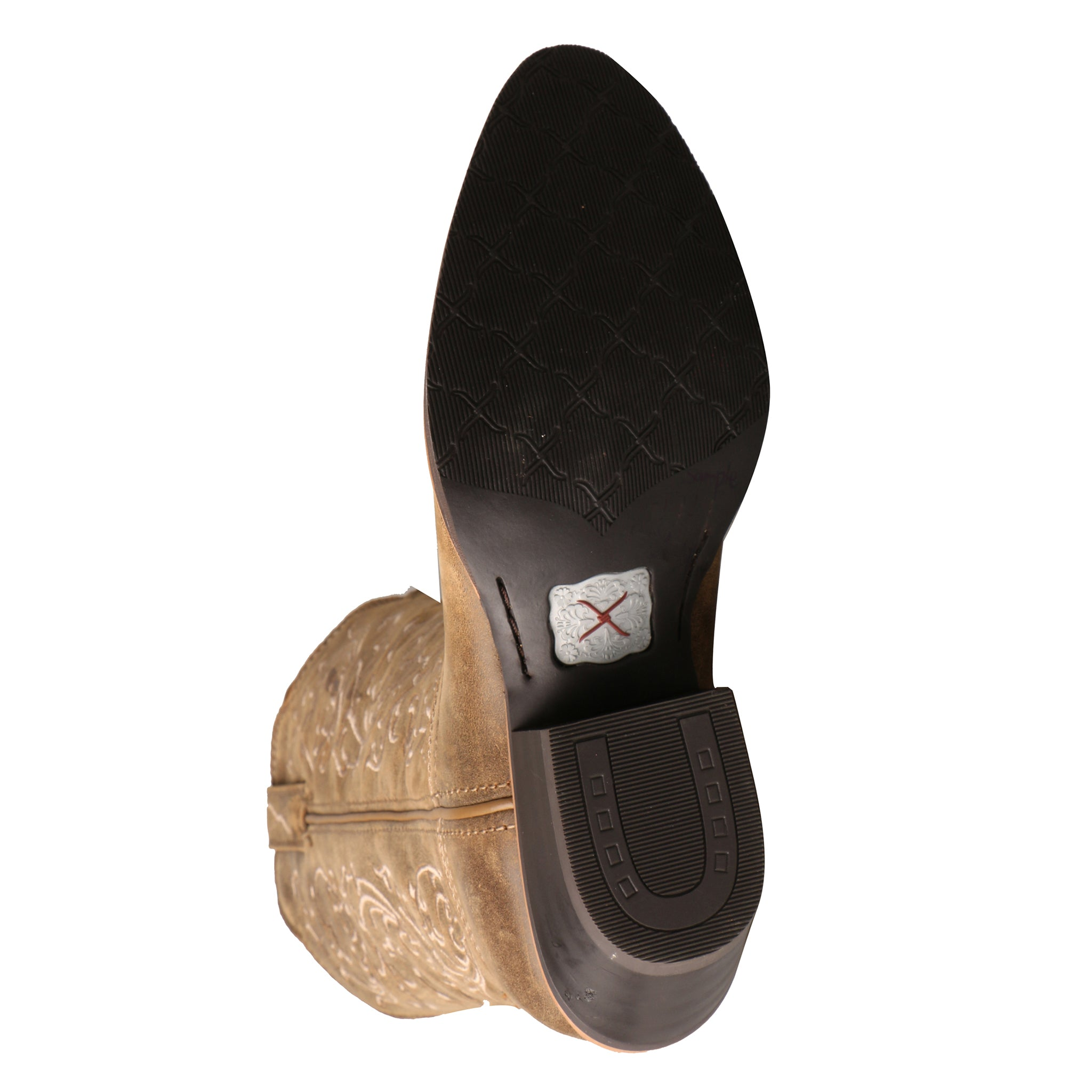 Picture of the bottom sole of the Women's Twisted X Western Boot WWT0025