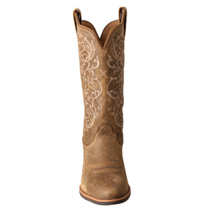 Picture of the front toe of the Women's Twisted X Western Boot WWT0025