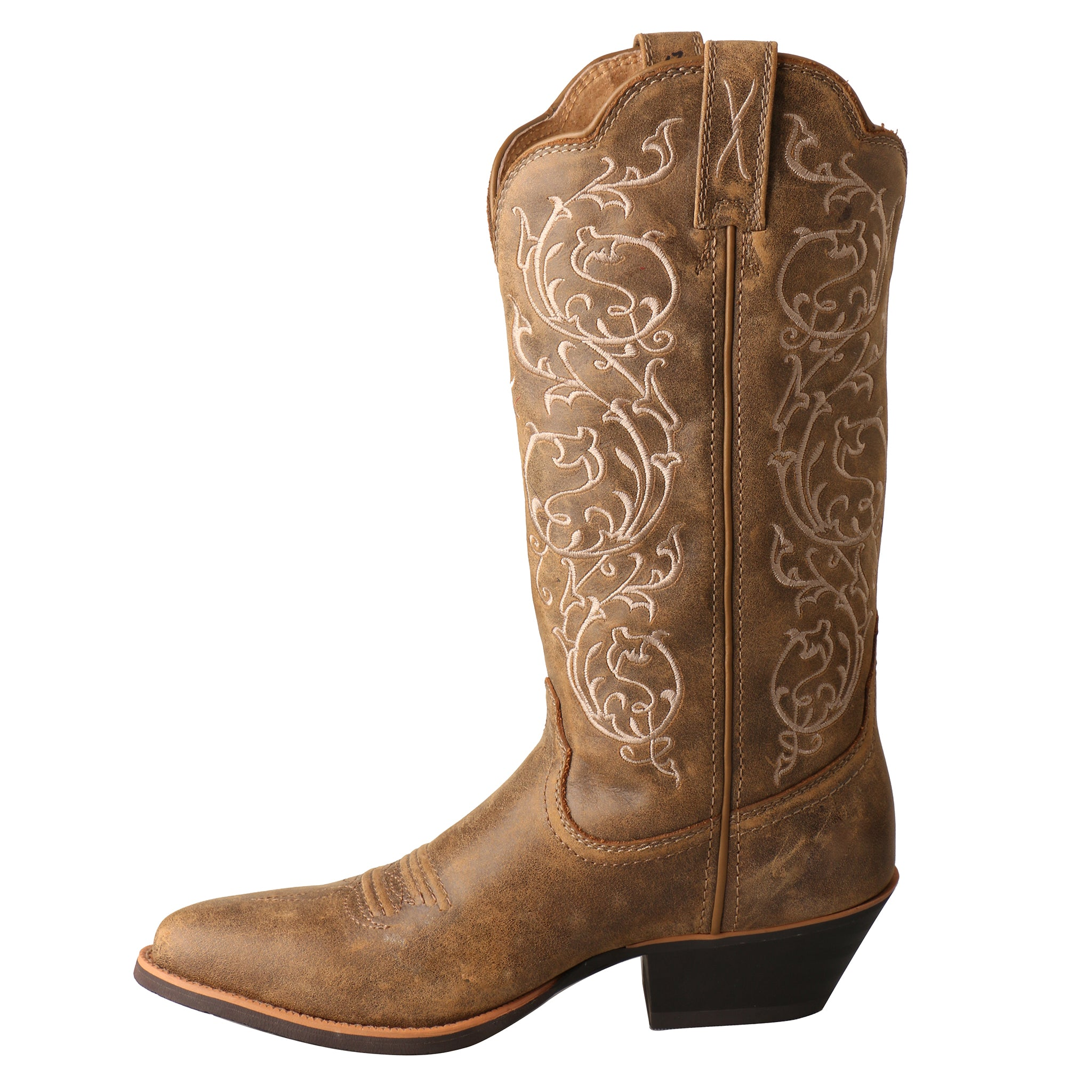 Picture of the outter side of the Women's Twisted X Western Boot WWT0025
