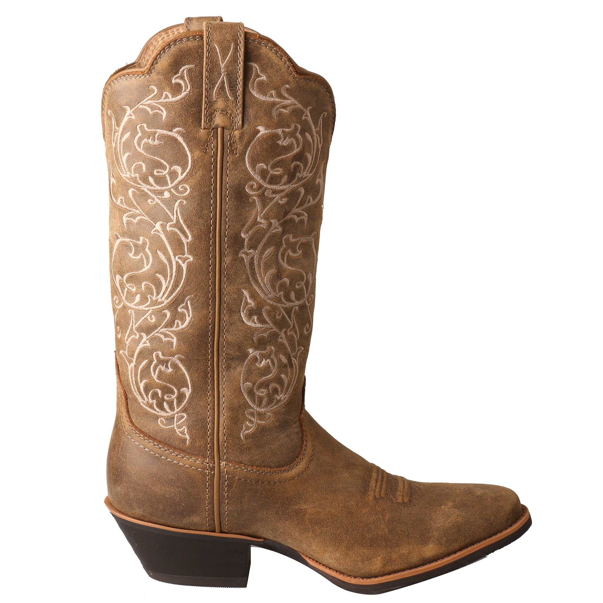 Picture of the inner side of the Women's Twisted X Western Boot WWT0025