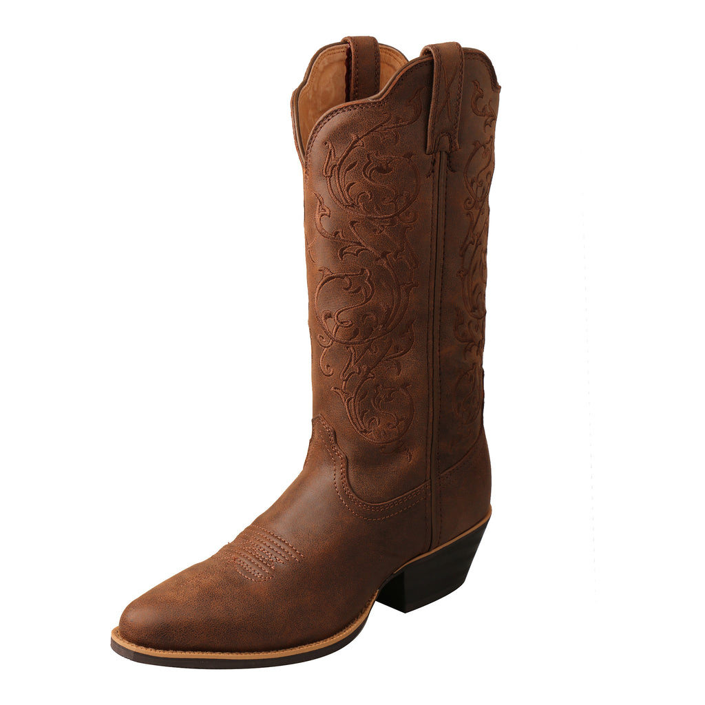 Angled picture of the outter side of the Women's Twisted X Western Boot WWT0037