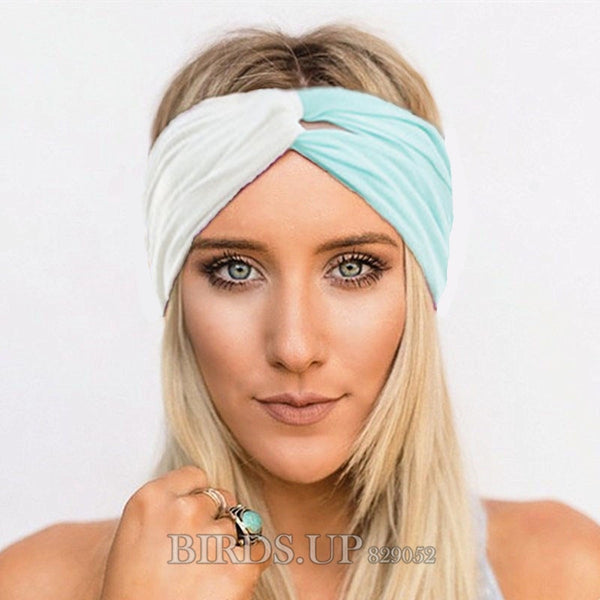 cee52e339cc7c7 Twist Headbands for Women Soft Turban Headband Yoga Headwrap Sport Head  Band Hairband Bandage Headwear Girls
