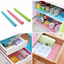 Afbeelding in Gallery-weergave laden, Waterproof Kitchen Table Mat Drawers Cabinet Shelf Liners Non Slip Cupboard Placemat