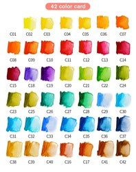 Aquarelverf set - 36 kleuren (White)