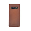 Genuine Brown Burnished Leather Samsung Galaxy S10 Plus Case, Handmade samsung s10+ cover case, personalized s10 plus phone case, best gifts
