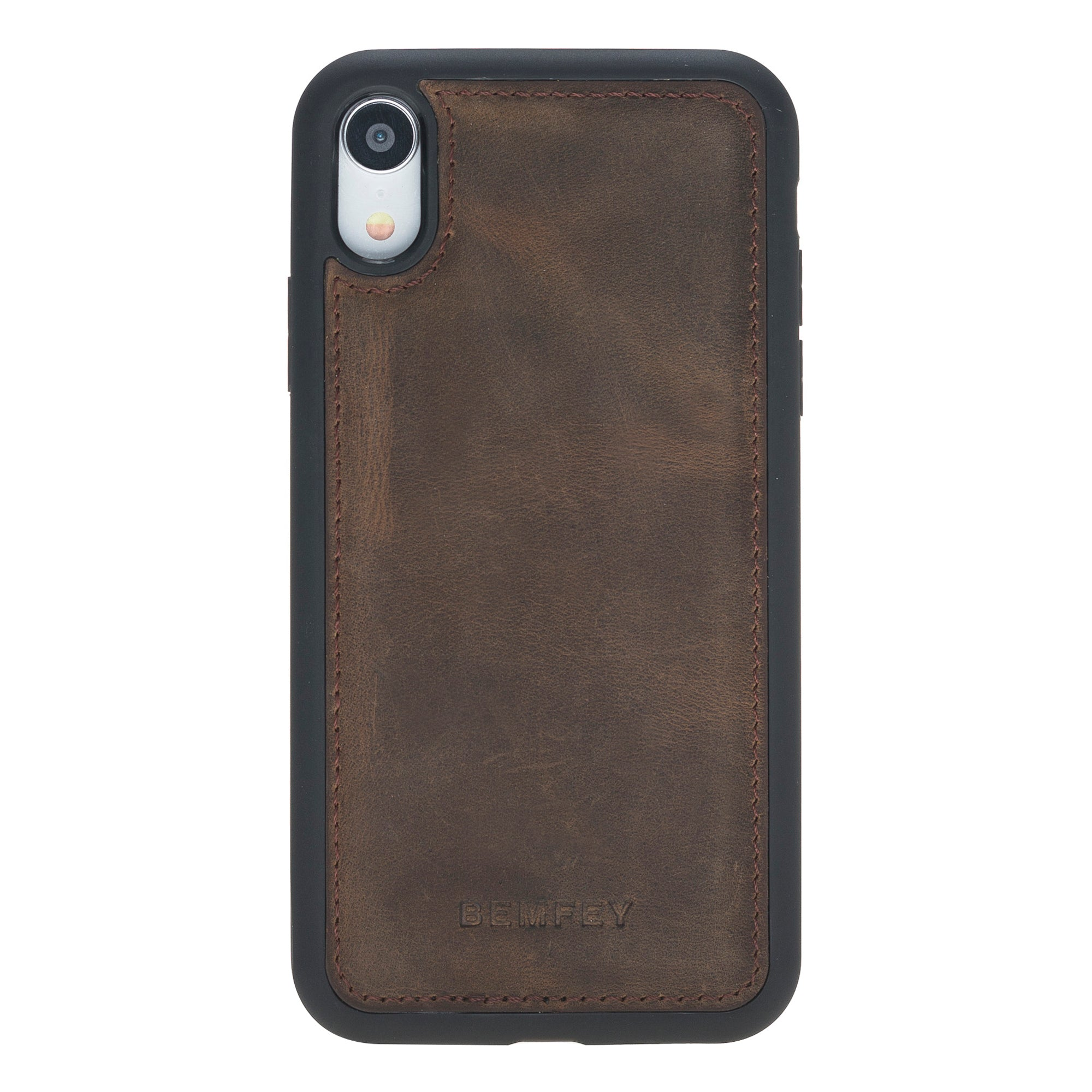 Como iPhone XR Case Coffee Brown