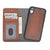Brown Burnished Apple iPhone XR Leather Case