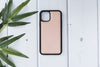"Nude Beige Apple iPhone 11 PRO MAX (6.5"") Leather Case"