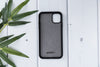 "Marble Gray Apple iPhone 11  (6.1"") Leather Case"