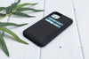 "Black Apple iPhone 11 PRO (5.8"") Leather Case"