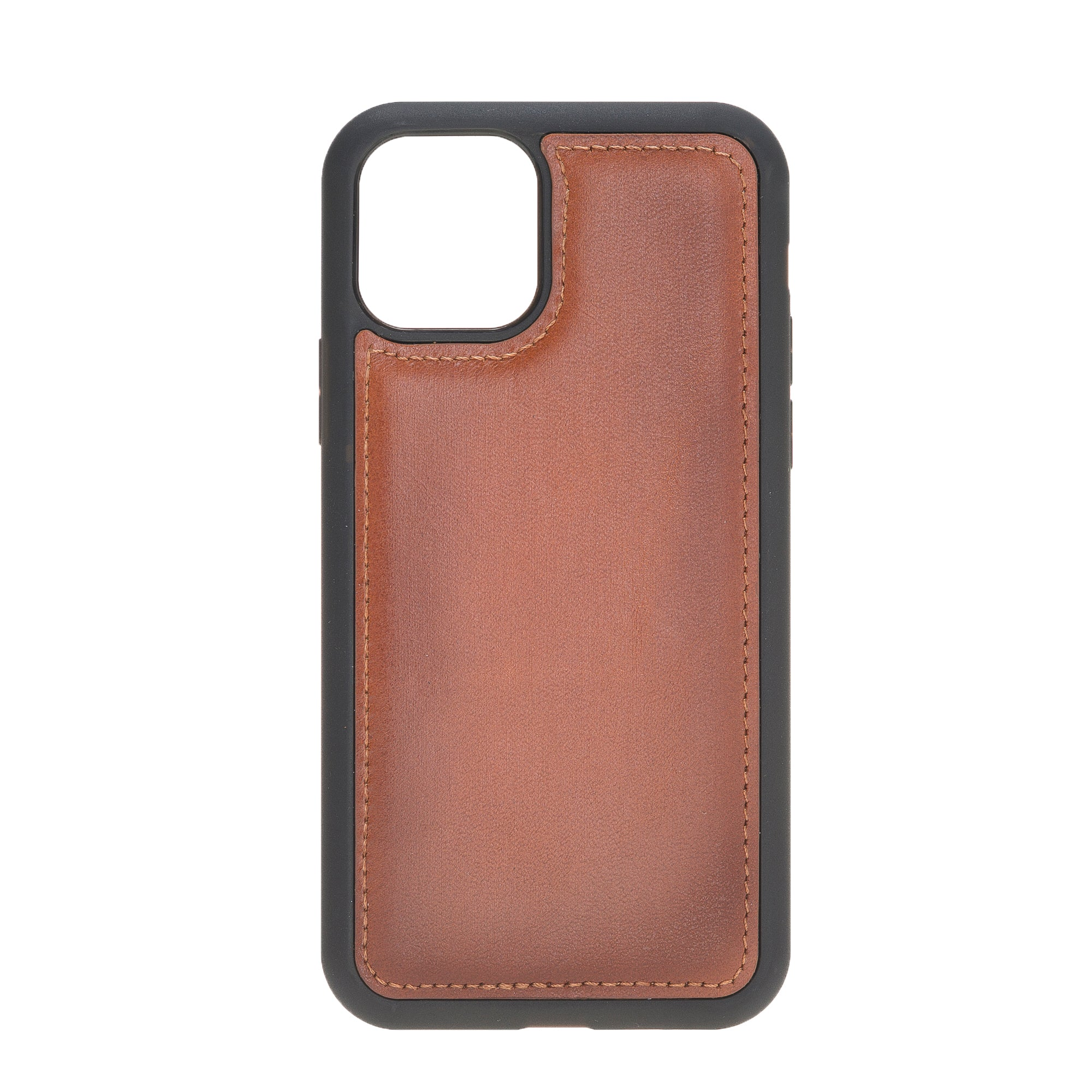 "Brown Burnished Apple iPhone 11 PRO (5.8"") Leather Case"