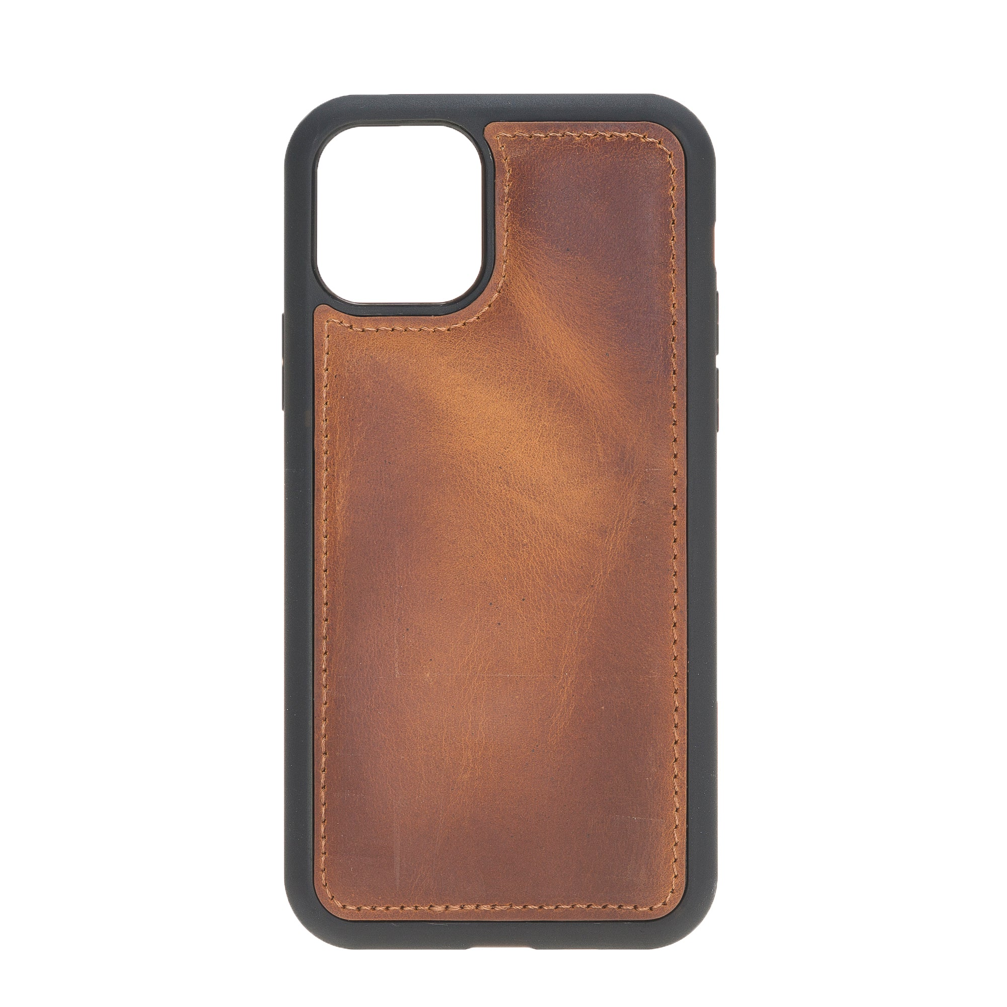 "Vintage Brown Apple iPhone 11 PRO (5.8"") Leather Case"