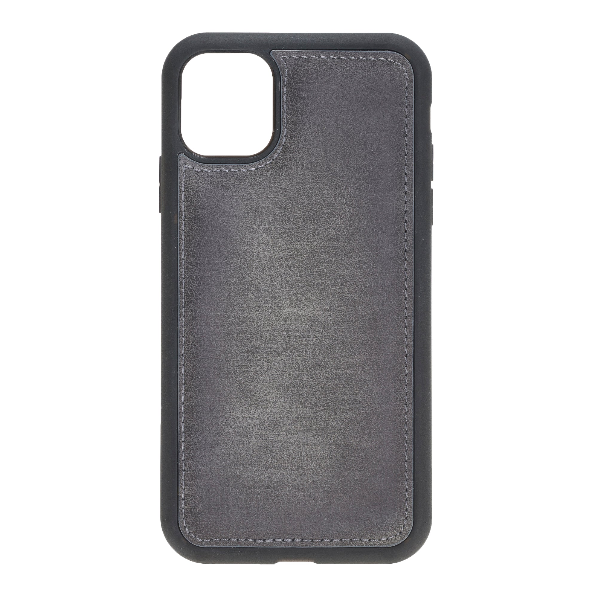 "Marble Gray Apple iPhone 11 PRO MAX (6.5"") Leather Case"
