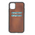 "Vintage Brown Apple iPhone 11 PRO MAX (6.5"") Leather Case w/ Card Slots"