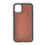"Brown Burnished Apple iPhone 11 (6.1"") Leather Case"
