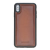 Como iPhone XS Max Case Brown Burnished Tan