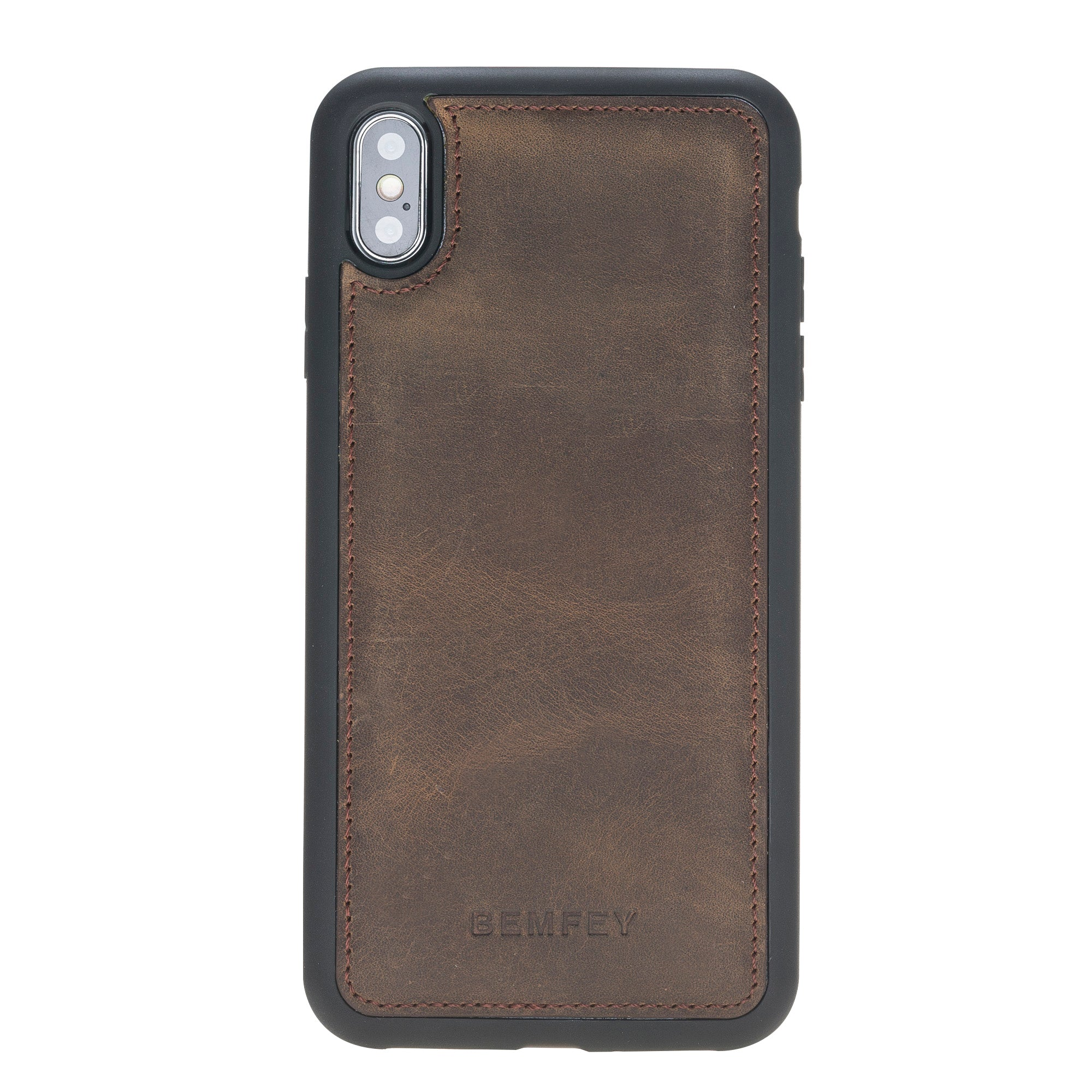 Como iPhone XS Max Case Coffee Brown