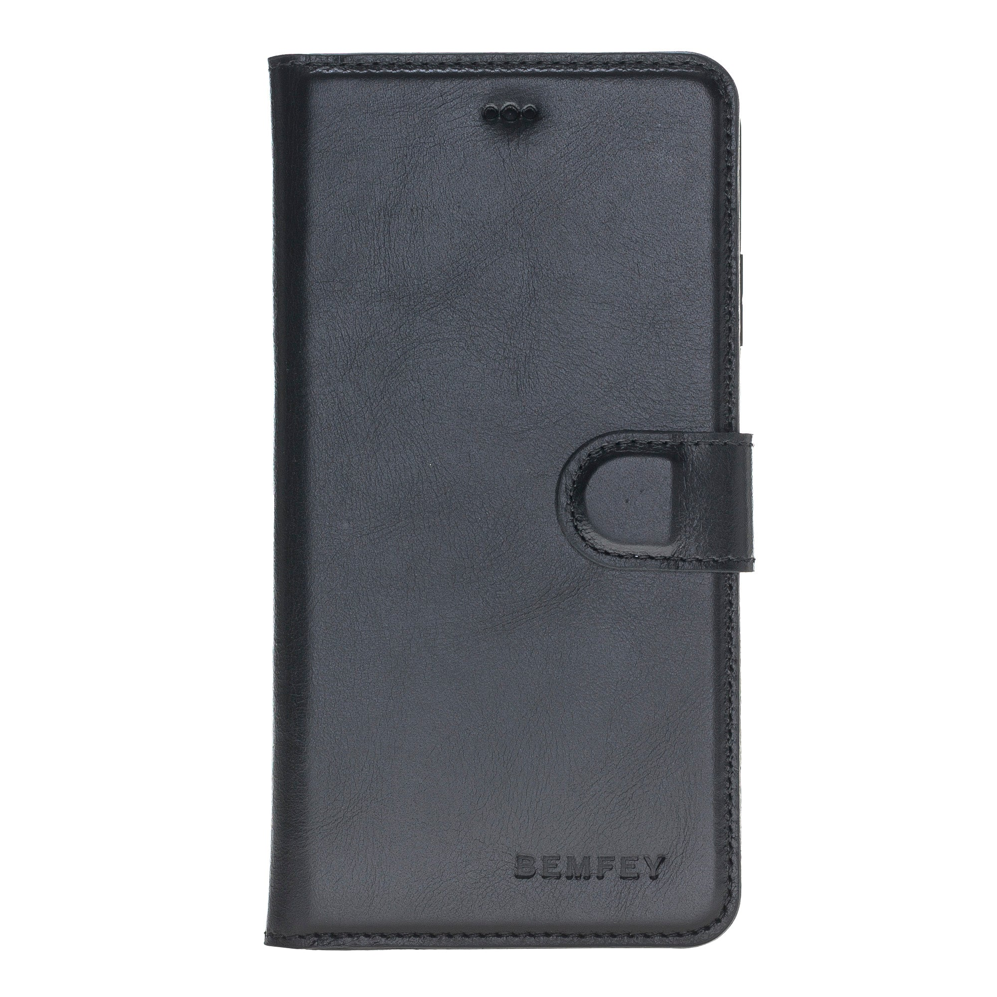Black Apple iPhone XS MAX Leather Case
