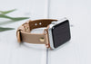 MODENA Slim Handmade Luxury Nude Leather Apple Watch Band 38–40mm 42–44mm