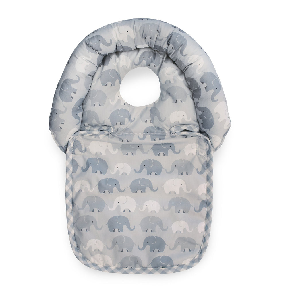 Gray Elephant Plaid